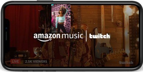 Amazon Music App Lets Artist Live Stream Concerts