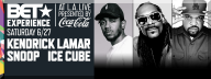 BET AWARDS 2015 EXPERIENCE TICKETS PERFORMER LINEUP