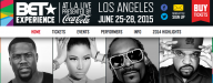 BET EXPERIENCE 2015 DATES TICKETS LINEUP