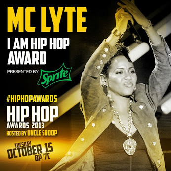 MC LYTE TO RECEIVE THE 'I AM HIP HOP' AWARD
