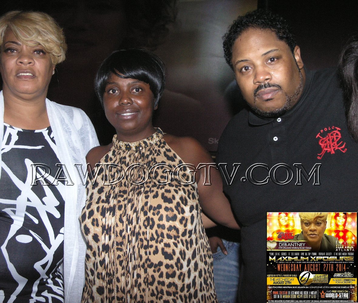 OPEN MIC ATLANTA be100 Radio Deb Antney RAWDOGGTV 305-490-2182 (63)+1